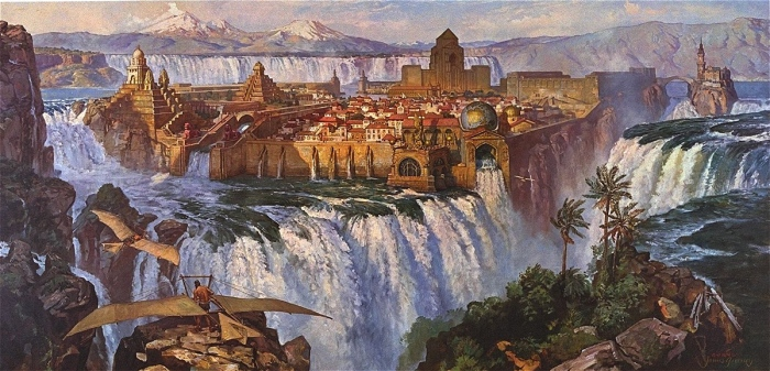 water-fall-city